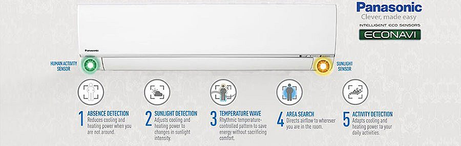 Panasonic Heat Pumps - Econavi intelligent heating